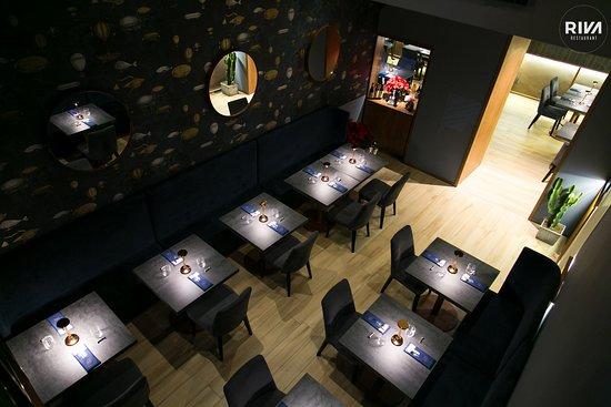 Riva Restaurant: vista interno