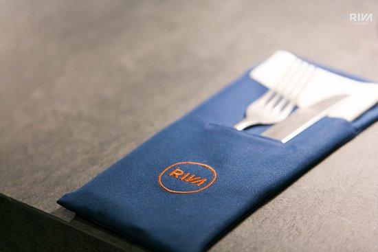 Riva Restaurant: dettagli del tavolo