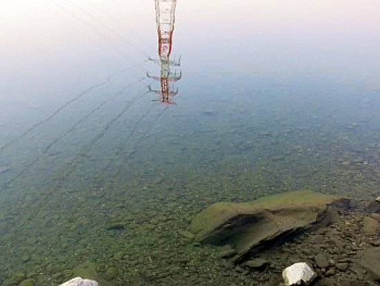 Tokushima Prefecture, Japón: 水は澄んでいました