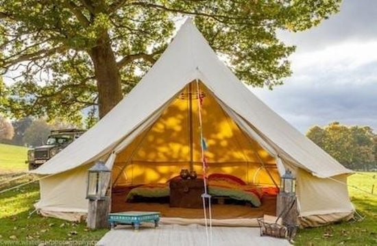 Bellac, France : We also offer Glamping
