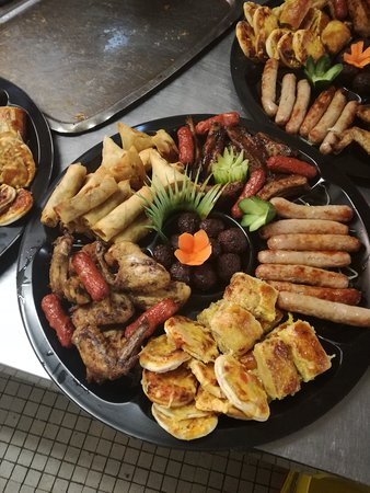 Sasolburg, South Africa: savoury platter for functions