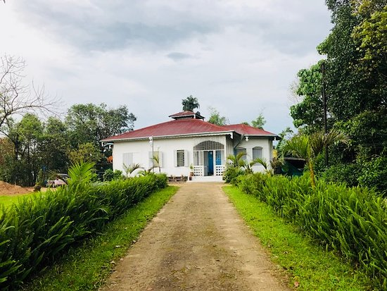 Kayin State, Myanmar: Old house in Thandaung Gyi
