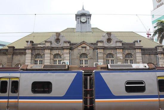 台湾最古の駅舎