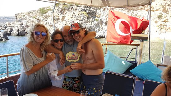 A birthday celebration with friends becomes an unforgettable memory on one of Golden Yachting boats.