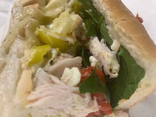 Holliston, MA: Rotisserie Chicken sandwich