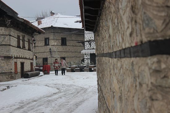 Bansko, Bulgaria: Streets of the Old town
