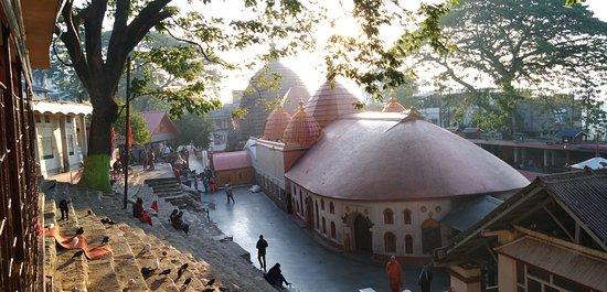 Kamakhya temple on a December morning