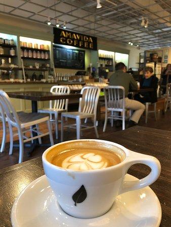 溫暖的咖啡店