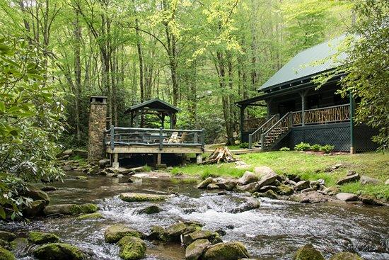 Nantahala Township, NC: Water's Edge Cabin