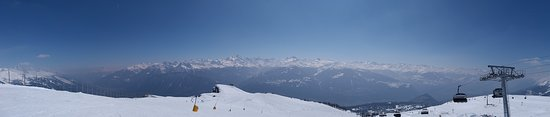 Crans-Montana, Sveitsi: On top of the world!