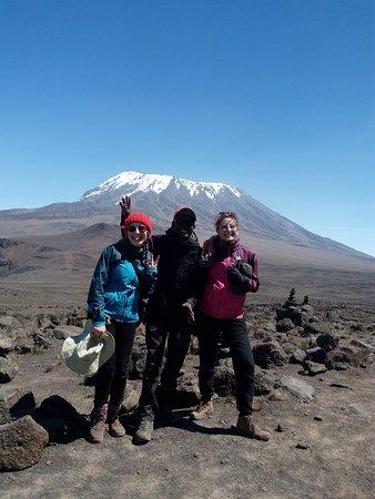 On Marangu Route(mount Kilimanjaro)