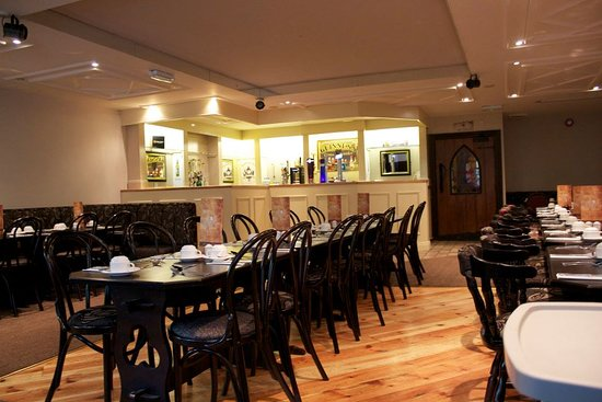 Greyabbey, UK: Function room and private bar area view.