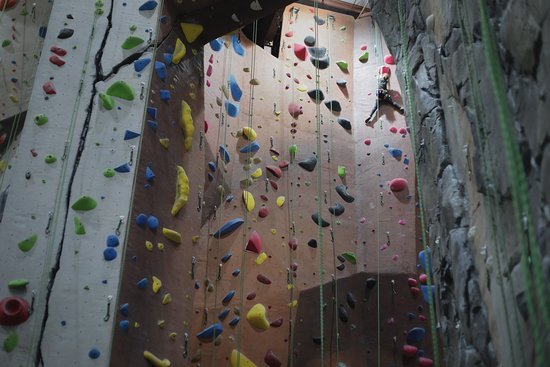 Oakland Park, ฟลอริด้า: Ready to feel the real deal? We have over 18,000 square feet of climbing for all levels, over 13 different cracks to climb and 4,000 sq ft of rock realistic features modeled after someone of the most popular climbing destination in the US. Our 60-foot walls make projectROCK the TALLEST climbing facility in the state of Florida.