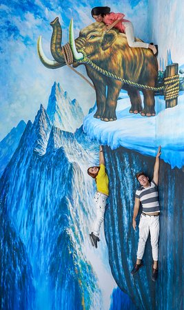 Museo Trick Eye: Have a dynamic encounter with animals