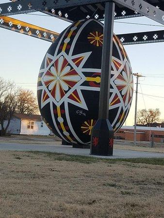 Wilson, KS: World's Largest Czech Egg