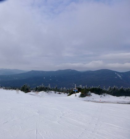 Carrabassett Valley, ME: view from one of the lifts