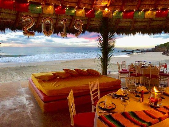 Las Alamandas Resort: We brought in New Years here.
