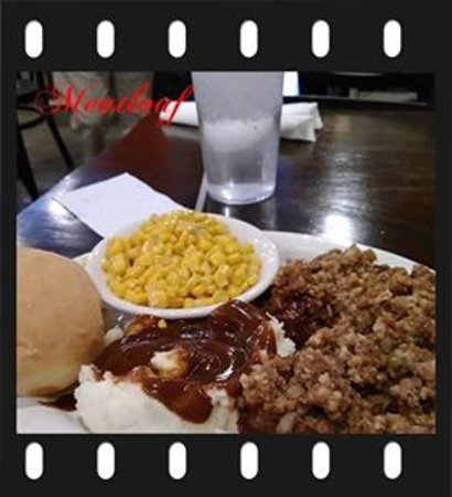 Melbourne, AR: This is the meatloaf that wasserved to me at that time.. Hopefully they have another different cook