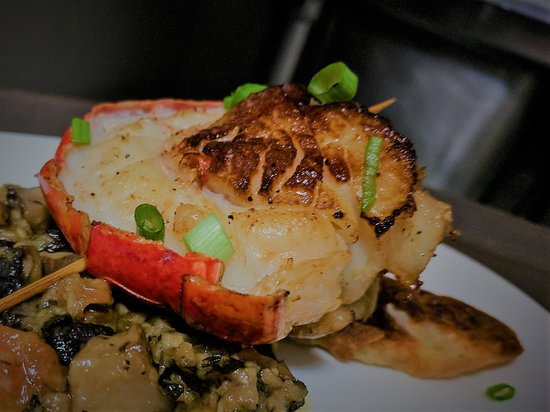Catonsville, MD: Lobster Scallop Duet.  One of the Specials from our New Year's Eve Menu