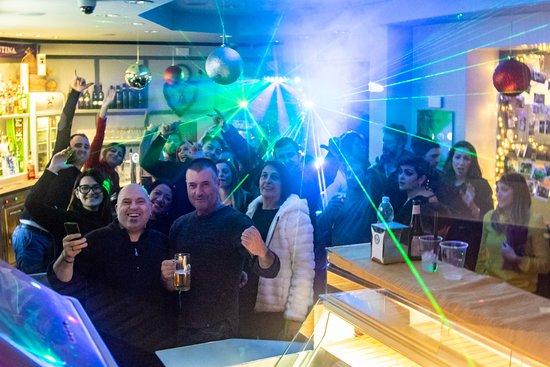 Province de Florence, Italie : Hause  Lounge  Night   Spritz bar Firenze