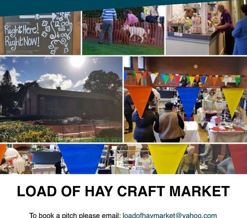 Load of Hay Craft Market