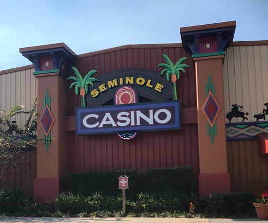 Seminole Brighton Casino: Sign