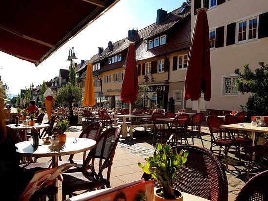 Cafe Bacher: Außenbereich