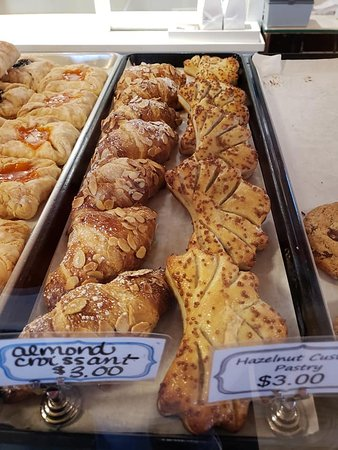 Danishes and pastries at Harbert Swedish Bakery