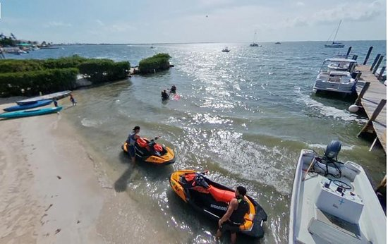 Key Largo Boat Beach Rental