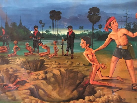 Sample of a painting explaining the horrors