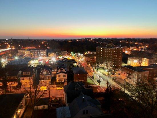 Irvington, NJ: Lo que se ve desde la ventana de la habitación