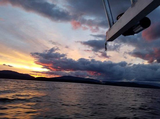Hope, ID: Good morning Lake Pend Oreille!