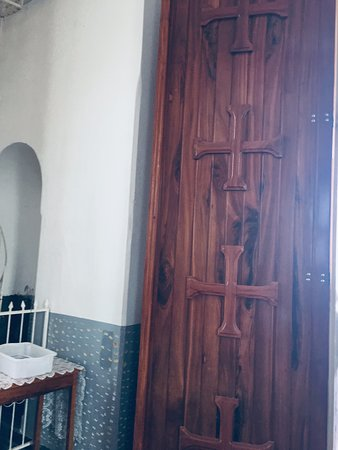 N S do Carmo Cathedral door