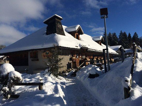 Les Paccots, Switzerland: Enfin la neige