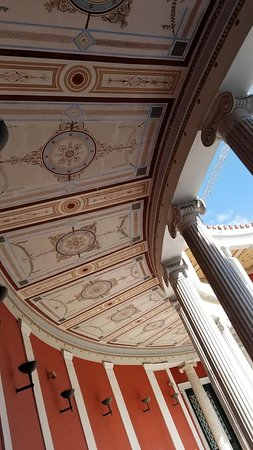 Zappeion Conference & Exhibition Center:  Zappeion ceiling