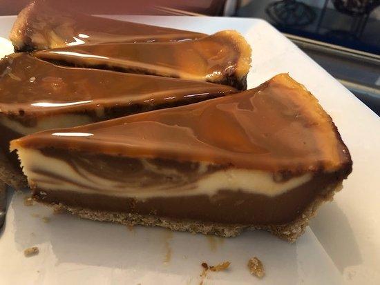 Ashland, Βιρτζίνια: Marble Caramel Cheesecake