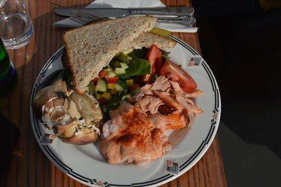 Isle of Eriskay, UK: Seafood platter
