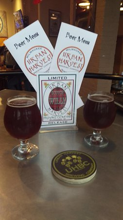 Urban Harvest Brewing Co: In the taproom
