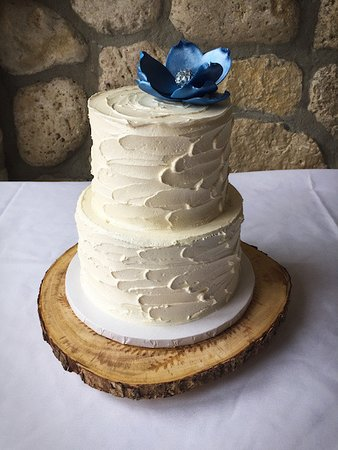Two Tier Wedding Cake Picture Of Tiny Cakes Cambridge Tripadvisor