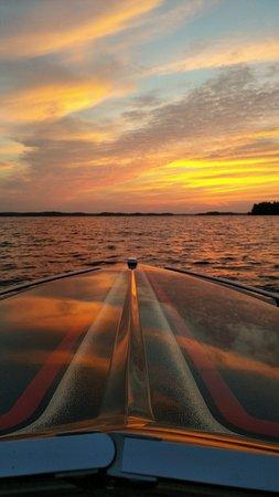 Lake Muskoka  Sunset Boat Ride