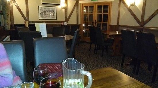 Orleton, UK: The restaurant