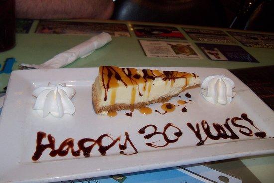 Penn Yan, NY: 30th Anniversary Fun Dessert!!! :)