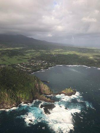 Maui Helicopter Tour Over Haleakala National Park and the Hana Rainforest: Views along the coast.