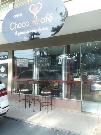 Entrada Chococcafé