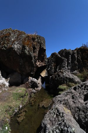 Cajamarca Region, Peru: Rocks close to Cajamarca