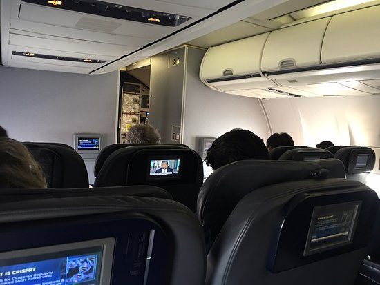 United Airlines: My first class upgrade