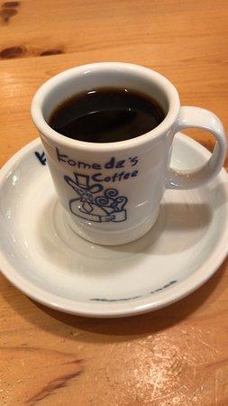 ブレンドコーヒー と C:名古屋名物おぐらあん、ジャーマン、カツカリーパン (2019/01/16)