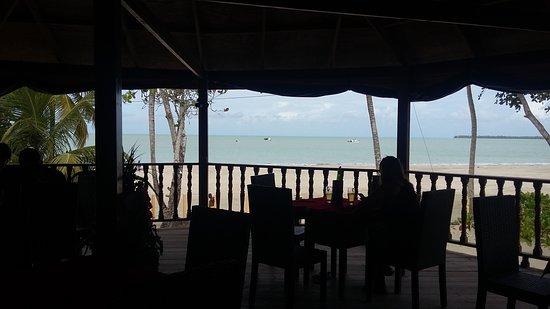 vista desde el restaurante