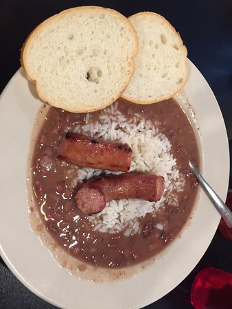 Lincoln, AL: Red beans and rice