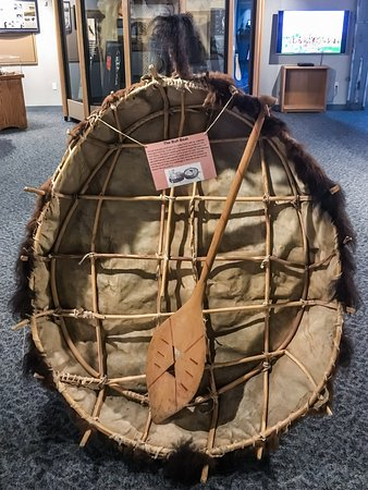 North Dakota: Common Boat Used by Trappers